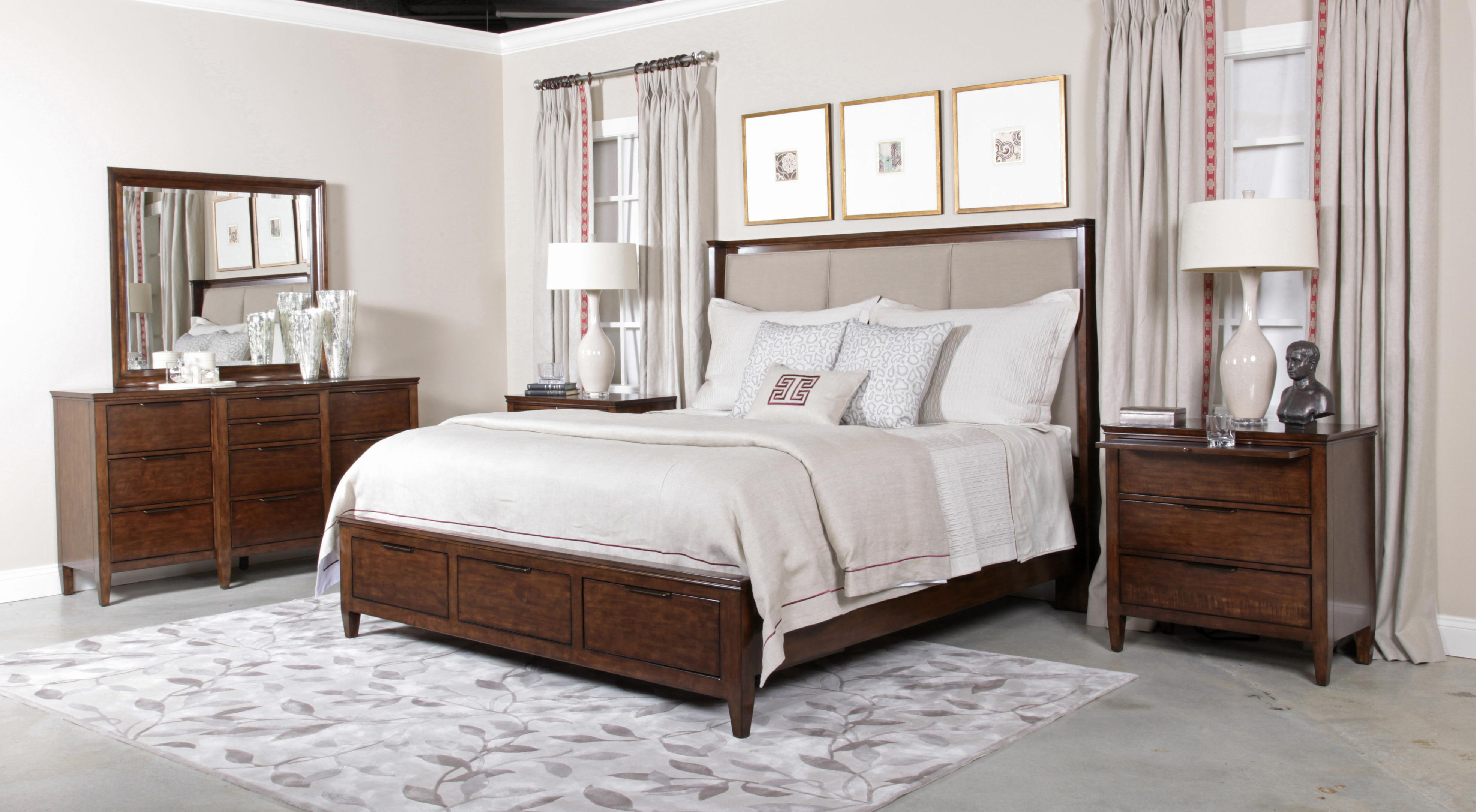 Elise King Bedroom Group by Kincaid Furniture at Johnny Janosik