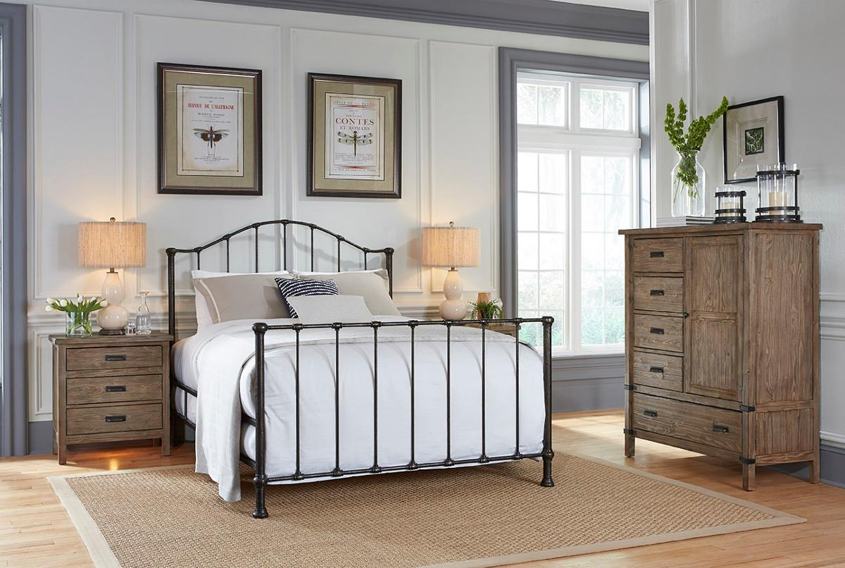 Foundry Bedroom Group by Kincaid Furniture at Northeast Factory Direct