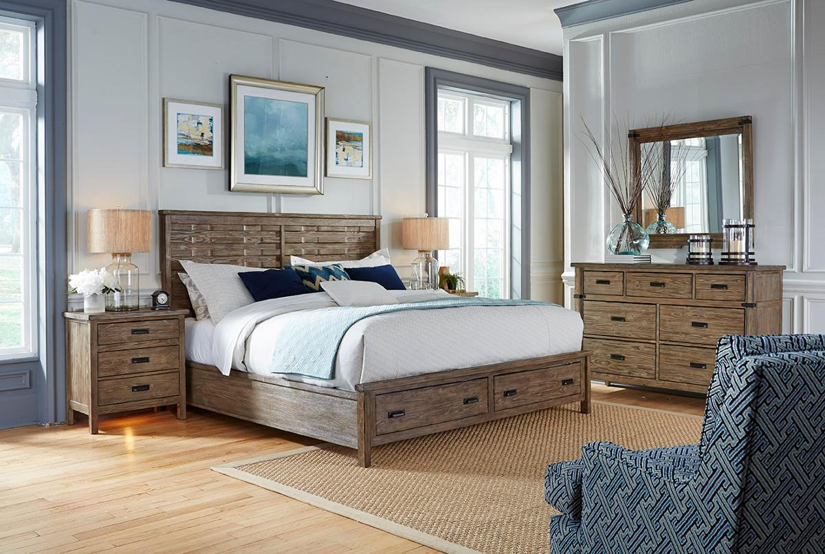 Foundry King Bedroom Group by Kincaid Furniture at Turk Furniture
