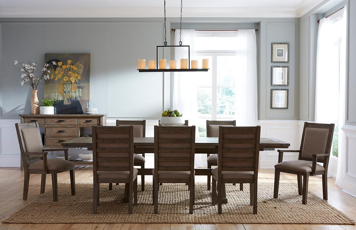 Foundry Formal Dining Room Group by Kincaid Furniture at Johnny Janosik