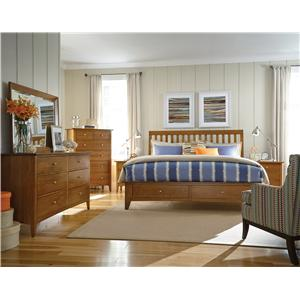 Kincaid Furniture Gatherings K Bedroom Group