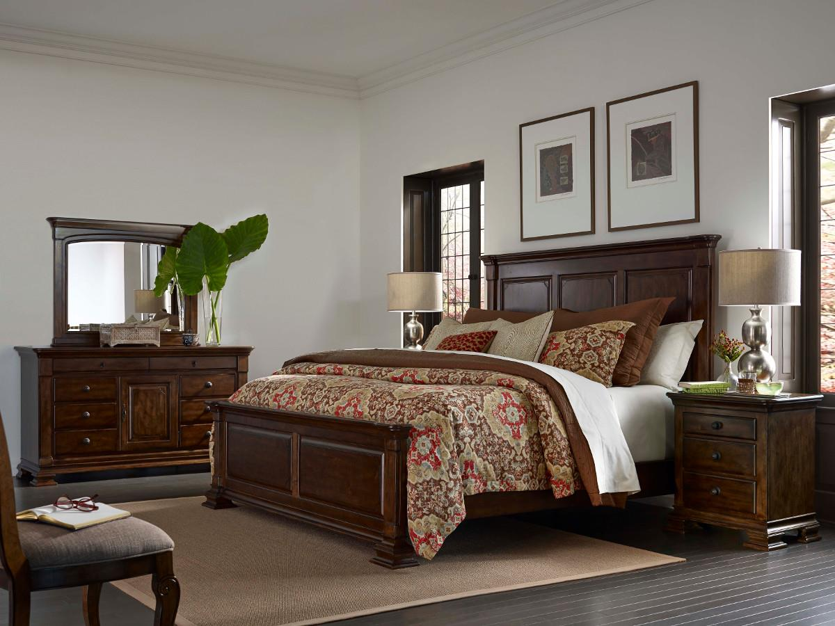 Portolone Queen Bedroom Group by Kincaid Furniture at Johnny Janosik