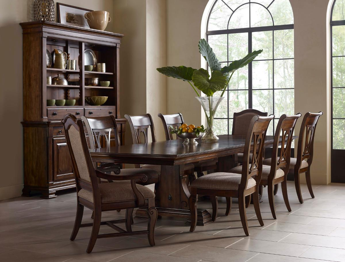 Portolone Formal Dining Room Group by Kincaid Furniture at Northeast Factory Direct