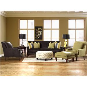 Klaussner Becca Stationary Living Room Group