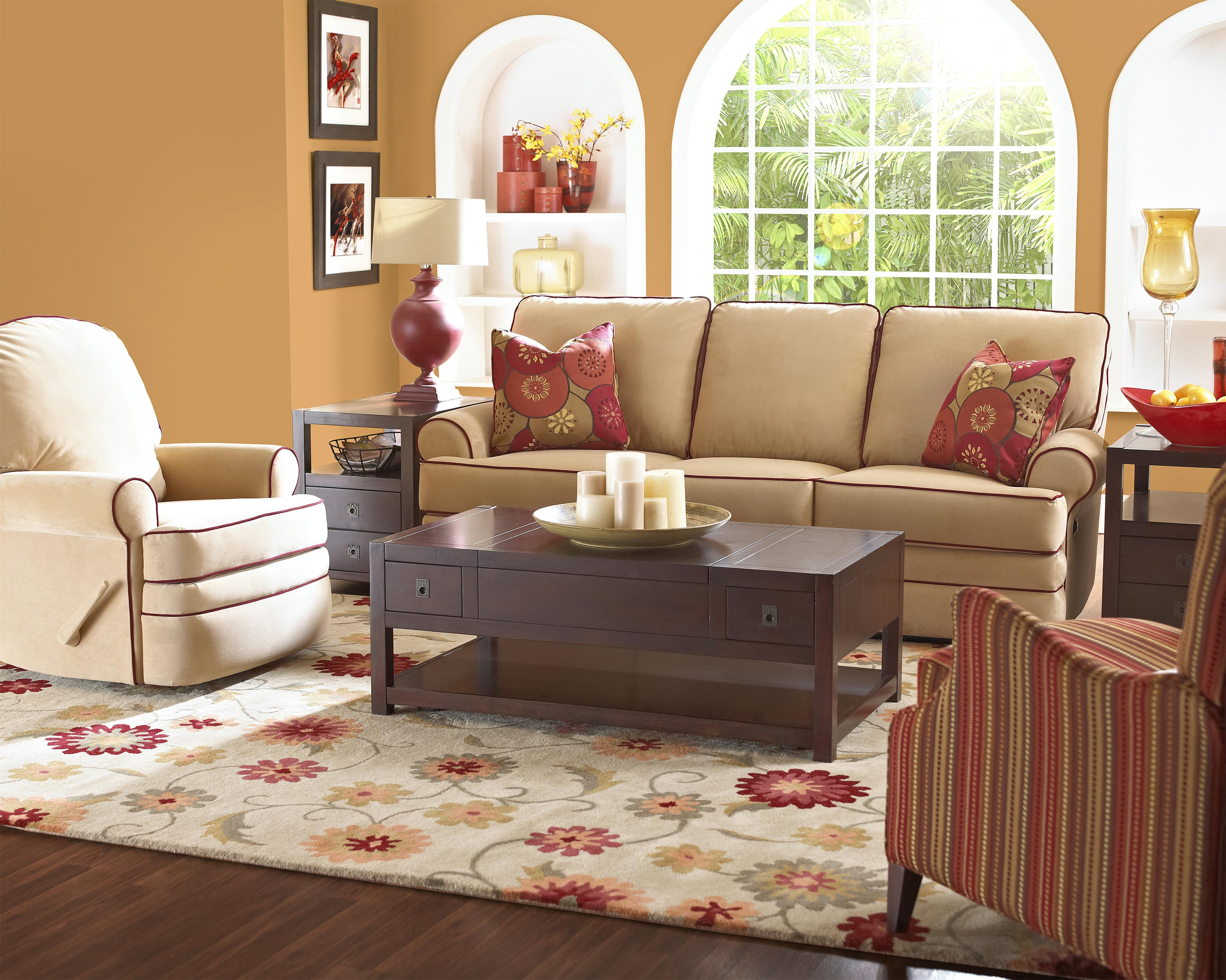 Belleview Reclining Living Room Group by Klaussner at Johnny Janosik