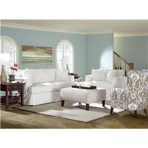 Klaussner Bentley Stationary Living Room Group