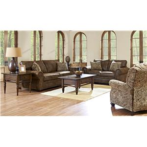 Klaussner Blackburn Stationary Living Room Group