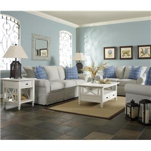 Klaussner Brook Stationary Living Room Group