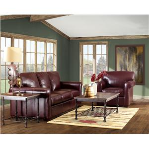 Klaussner Canoy Stationary Living Room Group