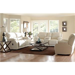 Klaussner Charmed Reclining Living Room Group