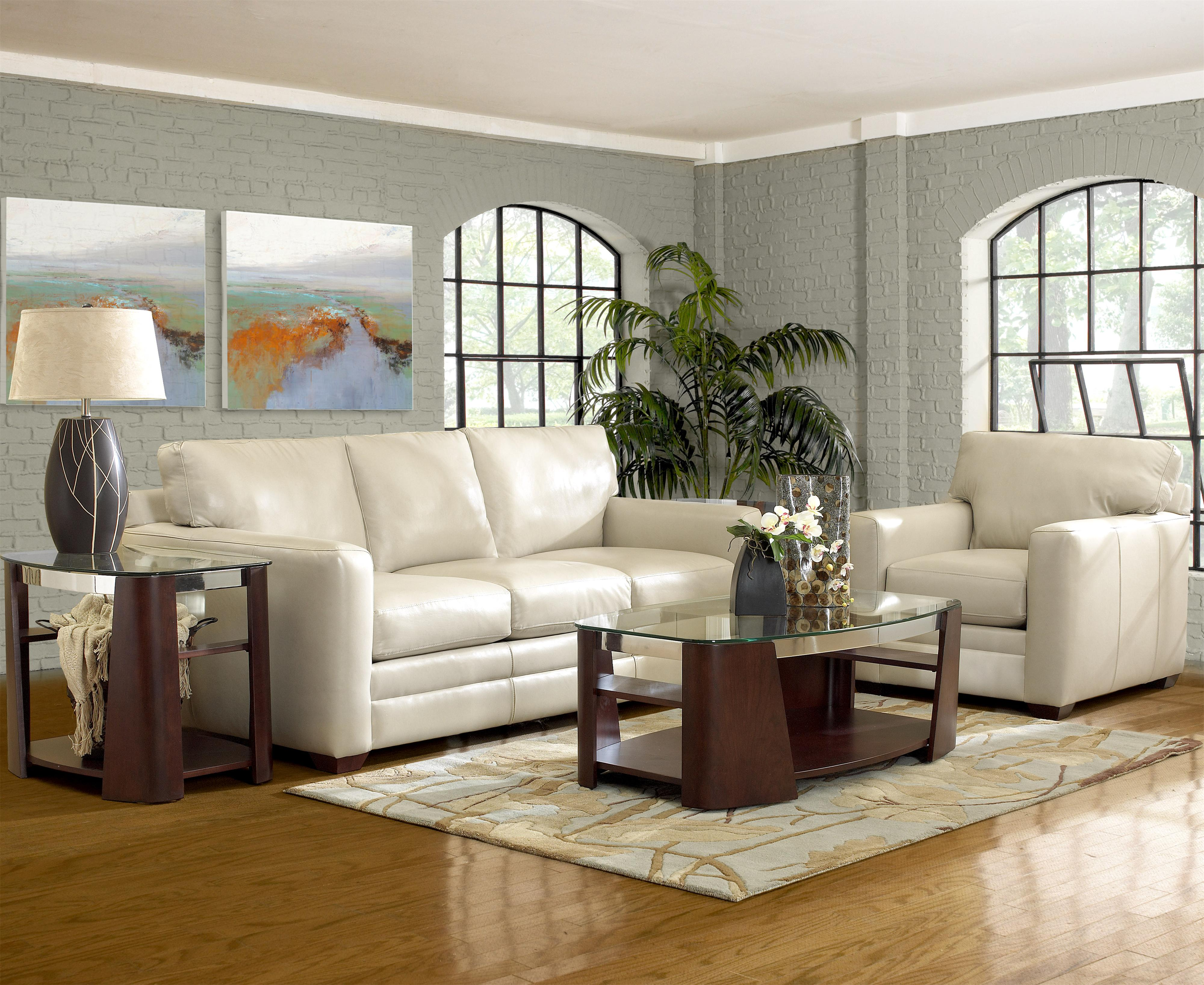 Fedora Stationary Living Room Group by Klaussner at Northeast Factory Direct