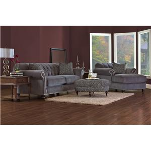 Klaussner Flynn Stationary Living Room Group