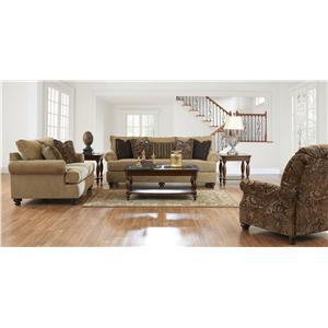 Klaussner Greenvale Stationary Living Room Group