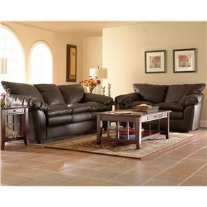 Klaussner Heights Stationary Living Room Group