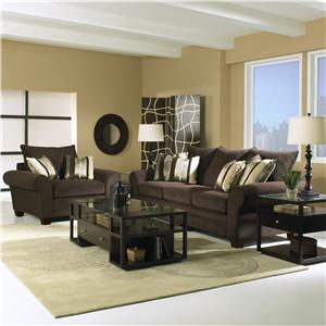 Klaussner Kazler Stationary Living Room Group