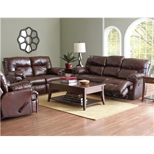 Klaussner Laramie Reclining Living Room Group