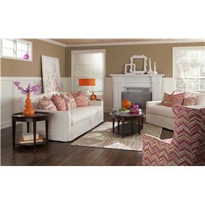 Klaussner Lindsey Stationary Living Room Group