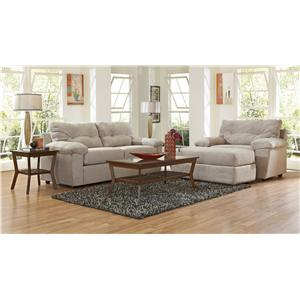 Klaussner Newton Stationary Living Room Group