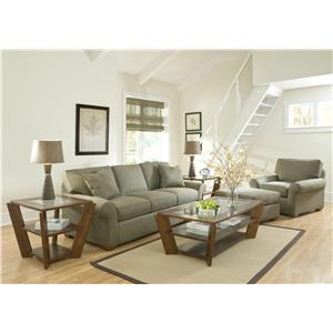Klaussner Patterns Stationary Living Room Group