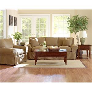 Klaussner Patterns Stationary Living Room Group