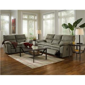 Klaussner Sanders Reclining Living Room Group