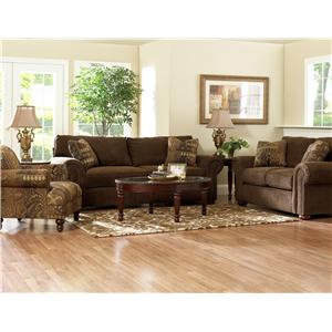 Klaussner Sienna  Stationary Living Room Group