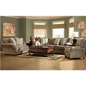 Klaussner Tolbert Stationary Living Room Group