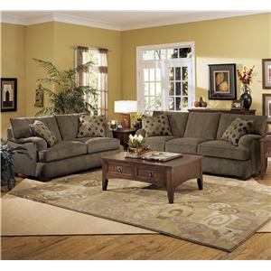 Klaussner Vaughn Stationary Living Room Group