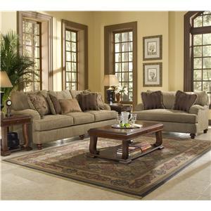 Klaussner Walker Stationary Living Room Group
