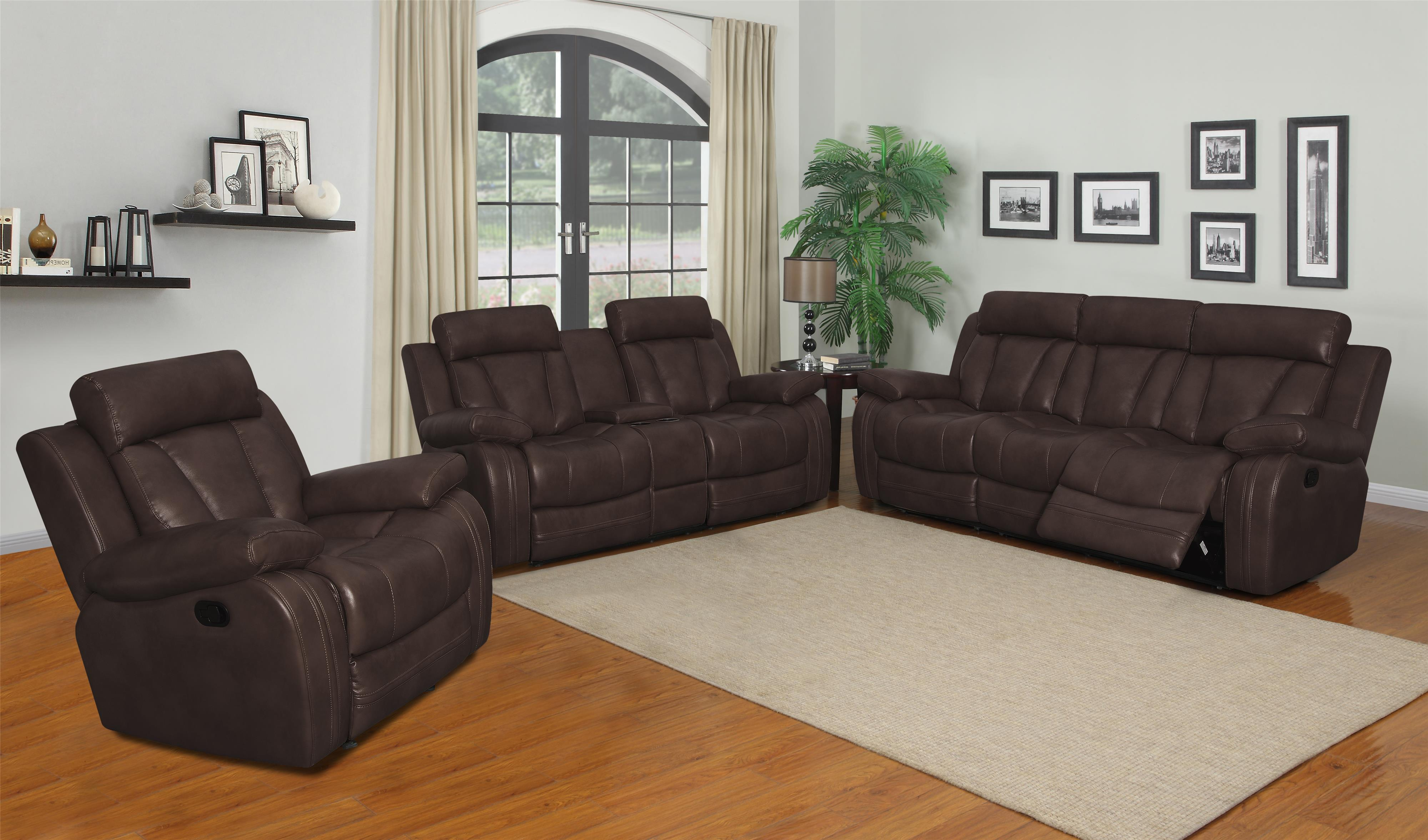 Atticus-US Reclining Living Room Group by Klaussner International at Rooms for Less