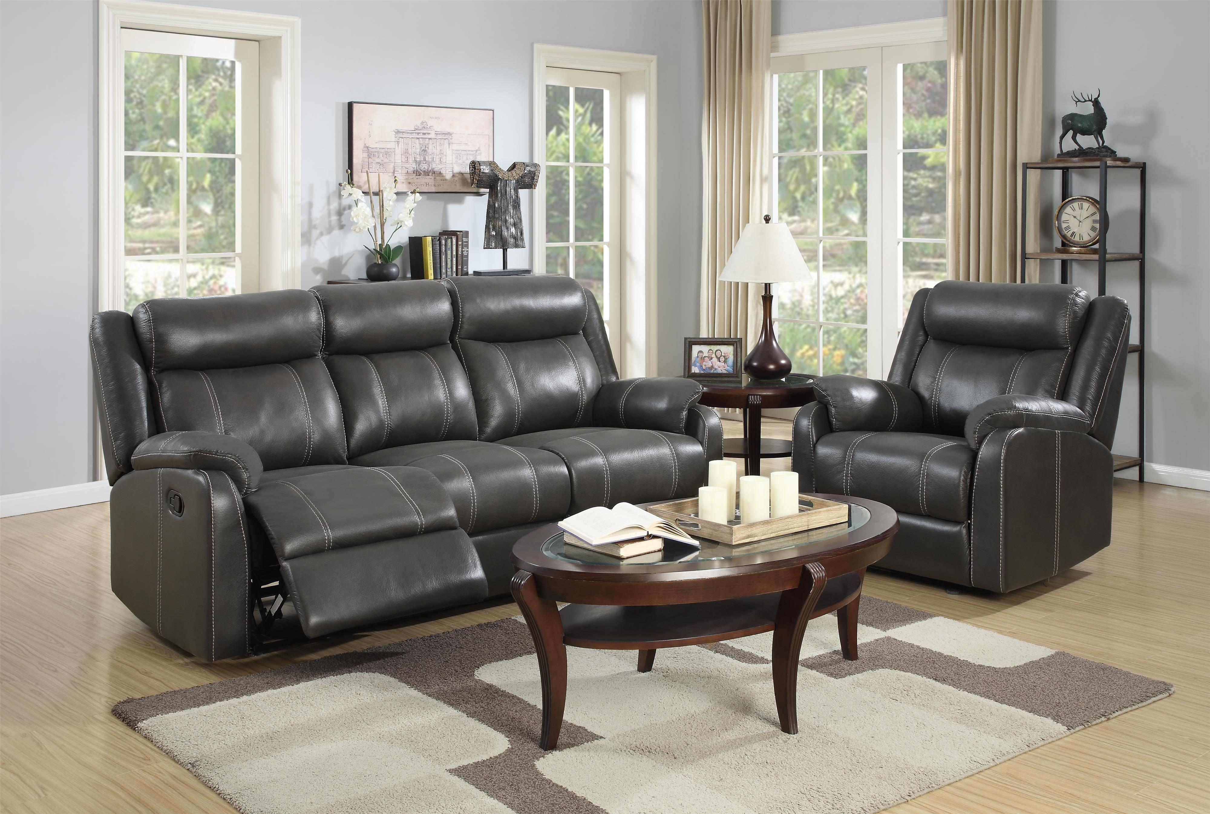 Domino-US Reclining Living Room Group by Klaussner International at Pilgrim Furniture City