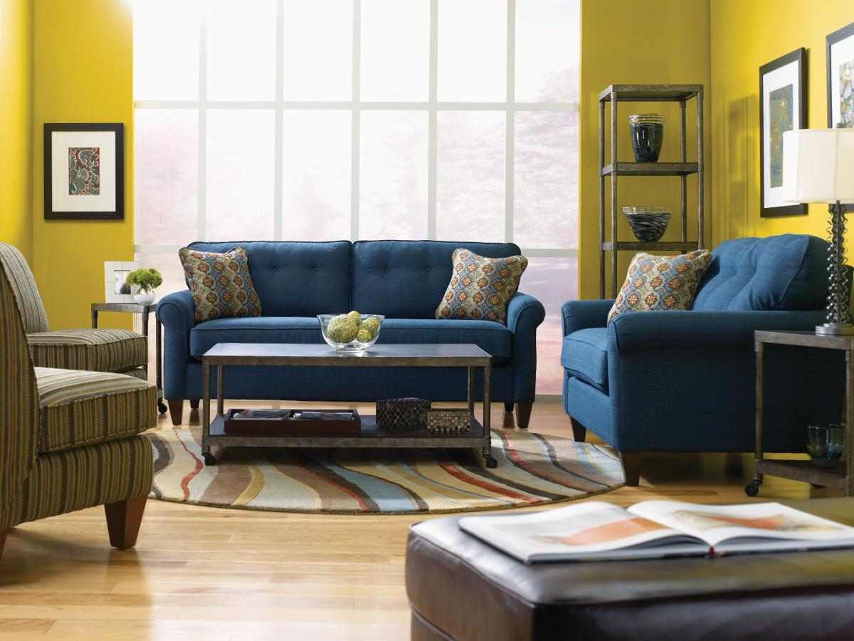 Laurel  Stationary Living Room Group by La-Z-Boy at Novello Home Furnishings