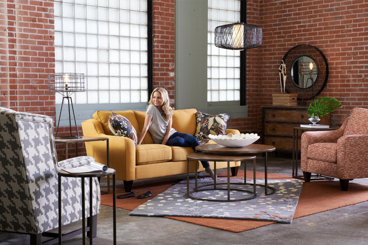 Talbot Stationary Living Room Group by La-Z-Boy at Jordan's Home Furnishings