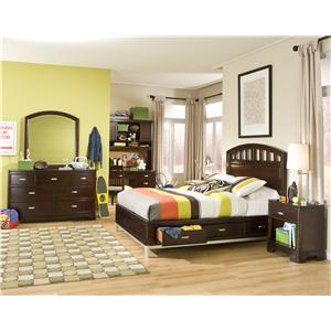 Legacy Classic Kids Park City Full Bedroom Group