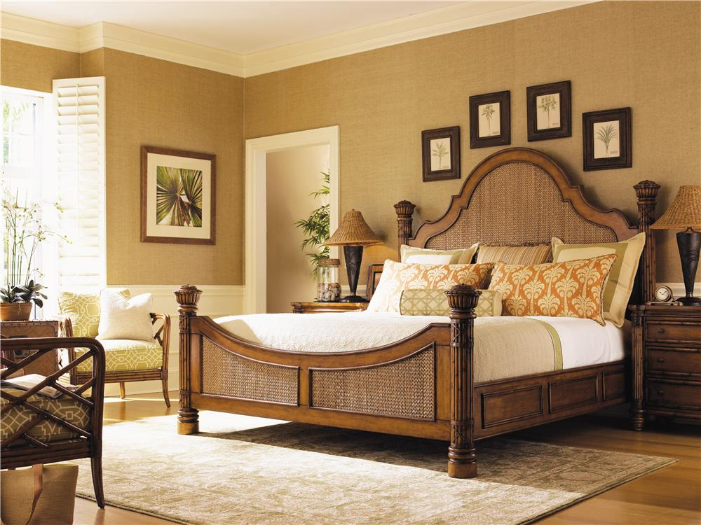 Island Estate Queen Bedroom Group by Tommy Bahama Home at Baer's Furniture