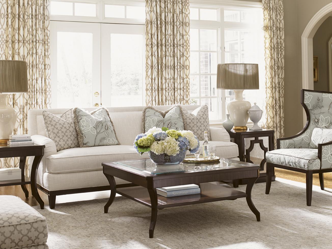 Kensington Place Stationary Living Room Group by Lexington at Johnny Janosik
