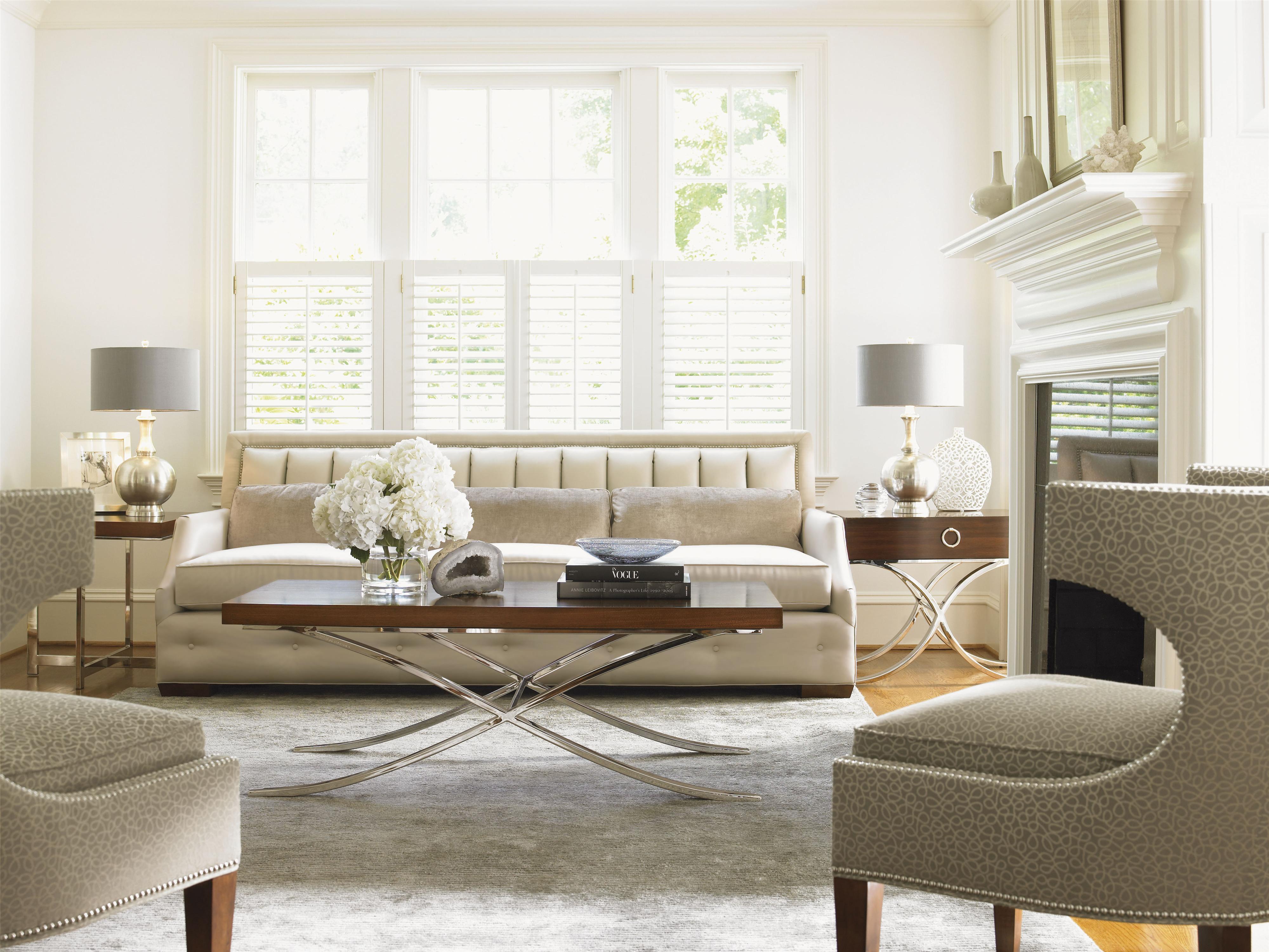 Mirage Stationary Living Room Group by Lexington at Furniture Fair - North Carolina