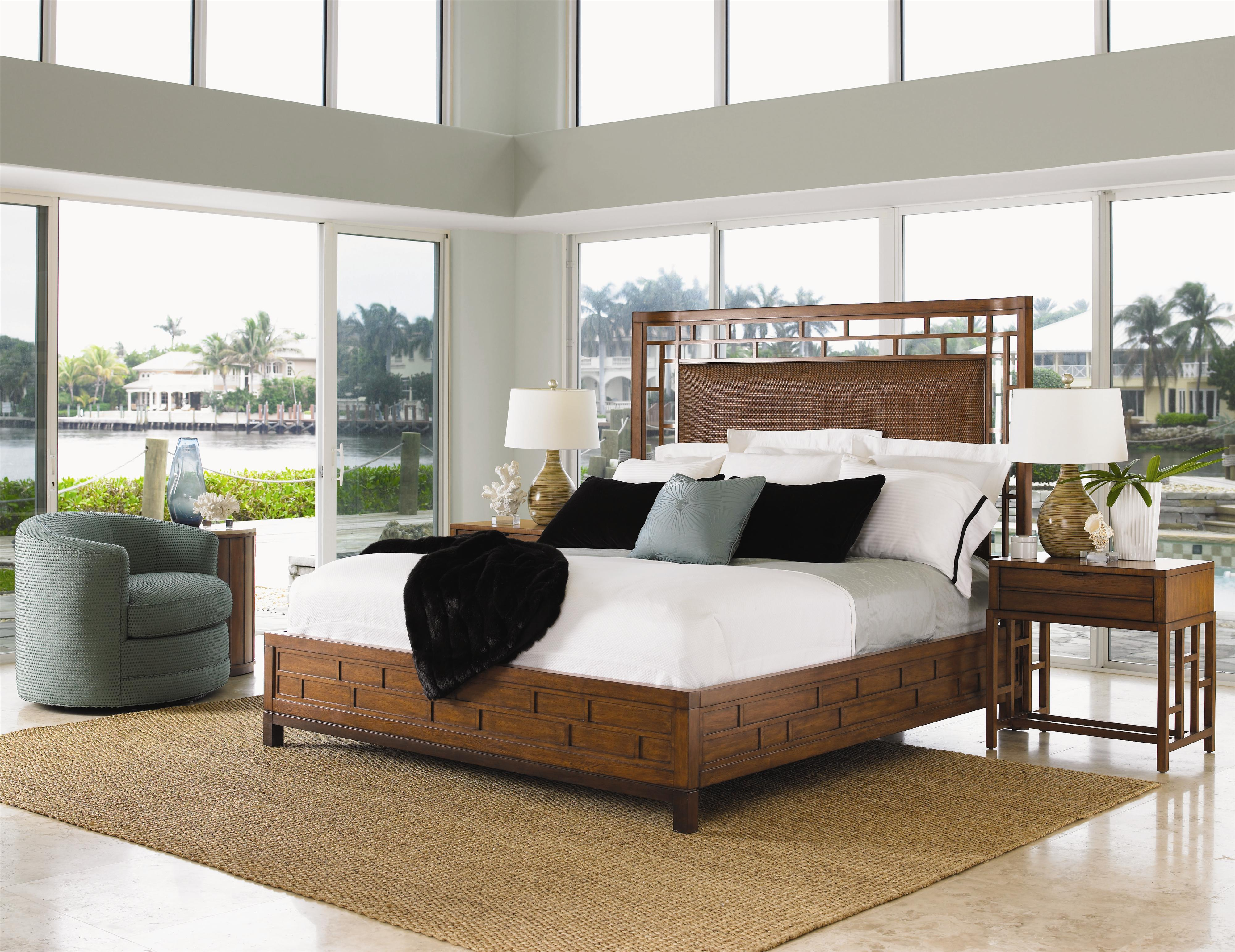 Ocean Club Queen Bedroom Group by Tommy Bahama Home at Baer's Furniture