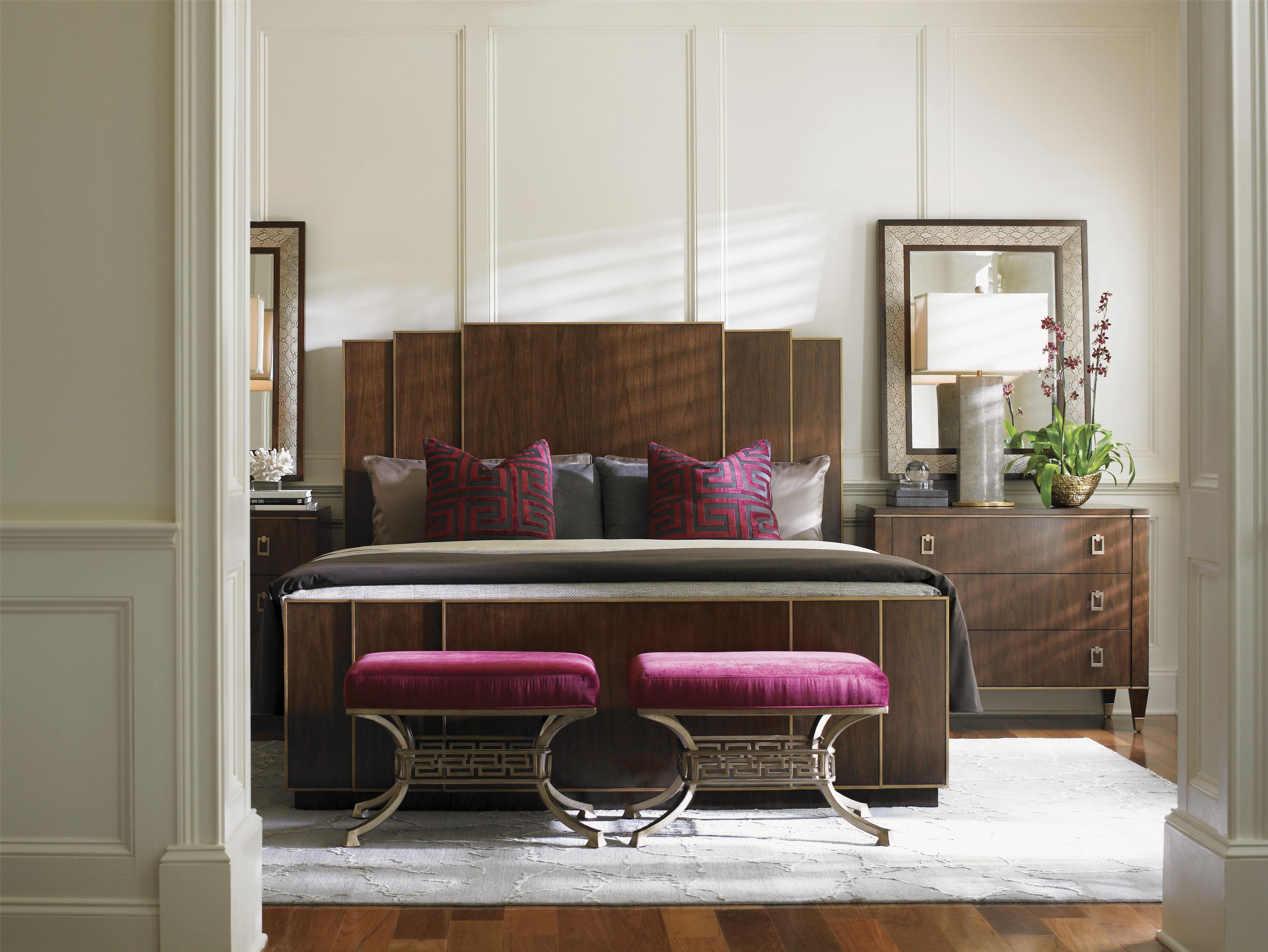 Tower Place California King Bedroom Group by Lexington at Johnny Janosik