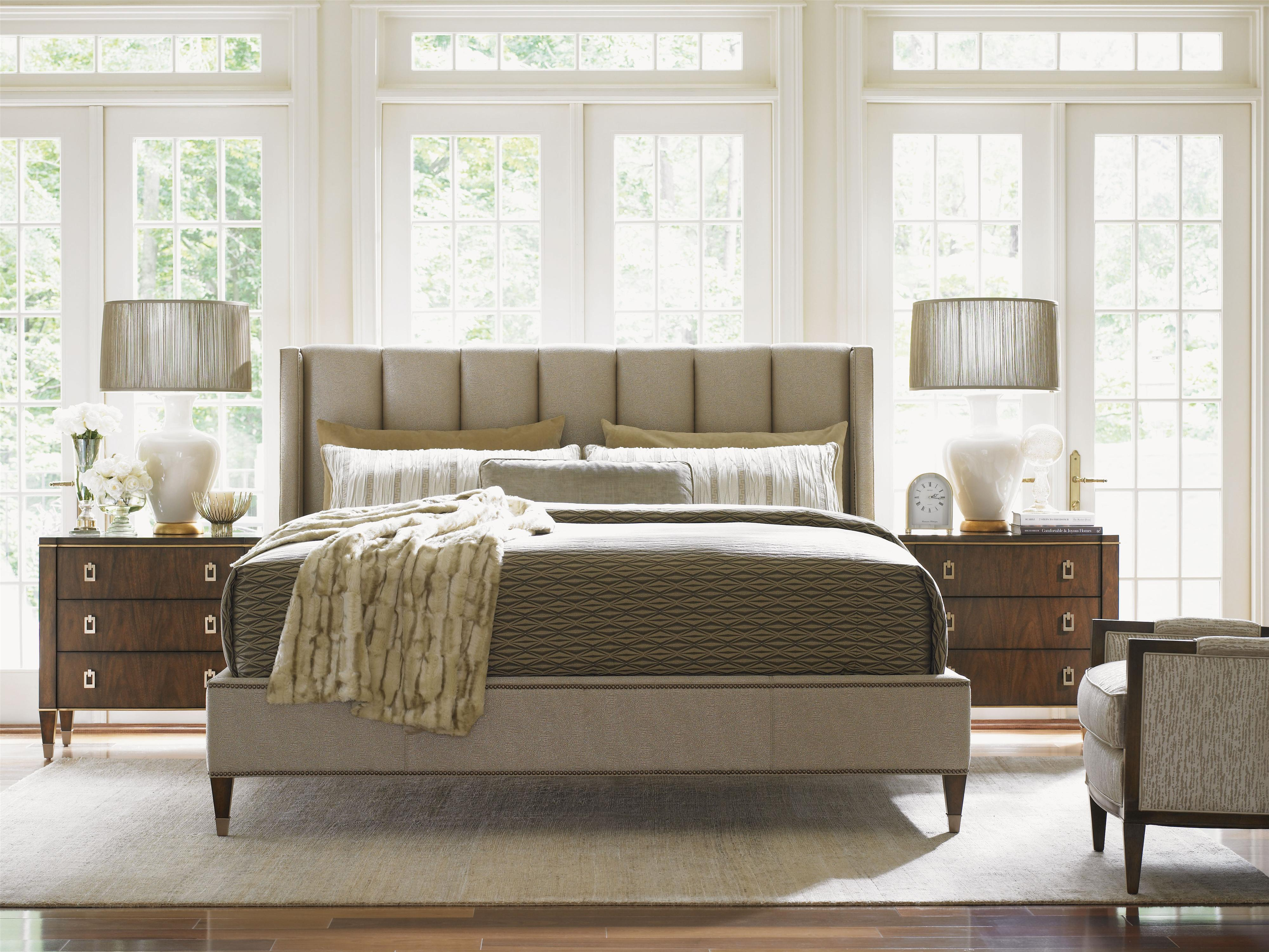 Tower Place Queen Bedroom Group by Lexington at Stuckey Furniture