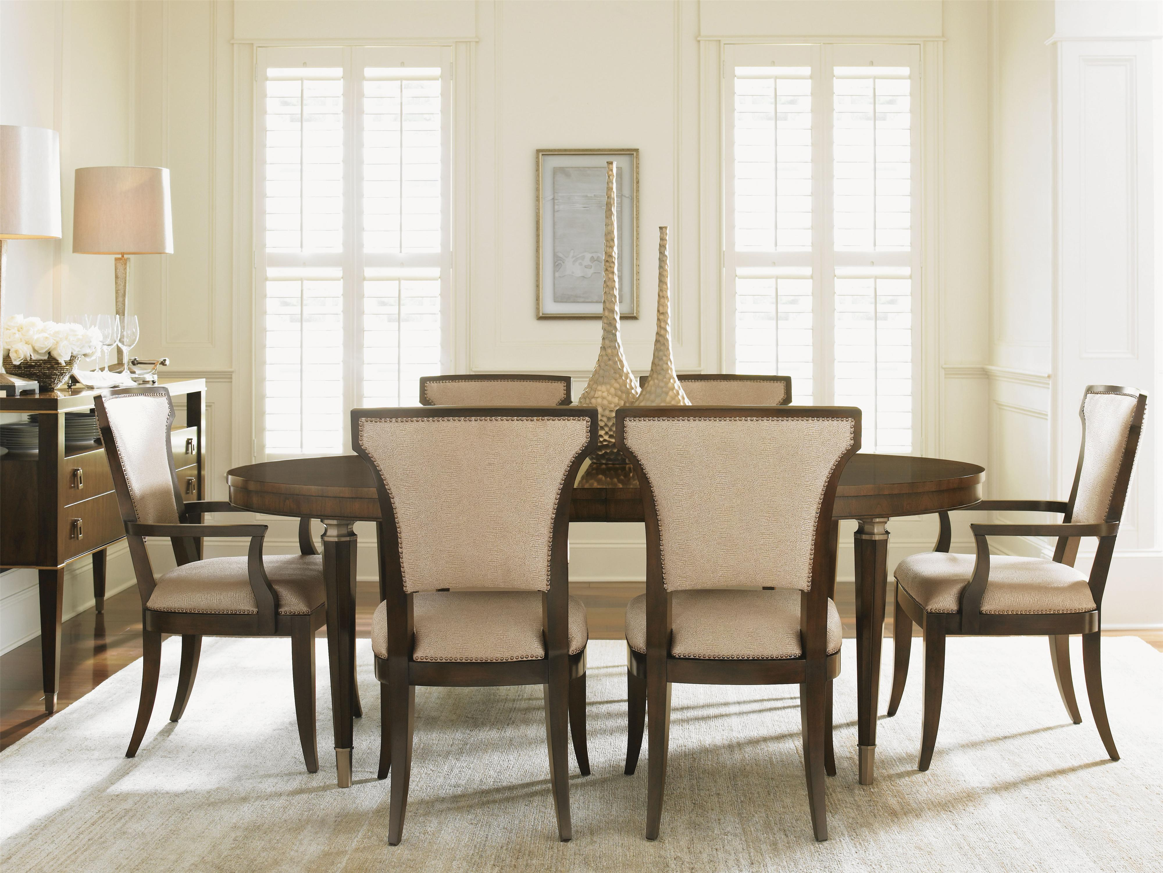 Tower Place 8 Piece Formal Dining Room Group by Lexington at Johnny Janosik