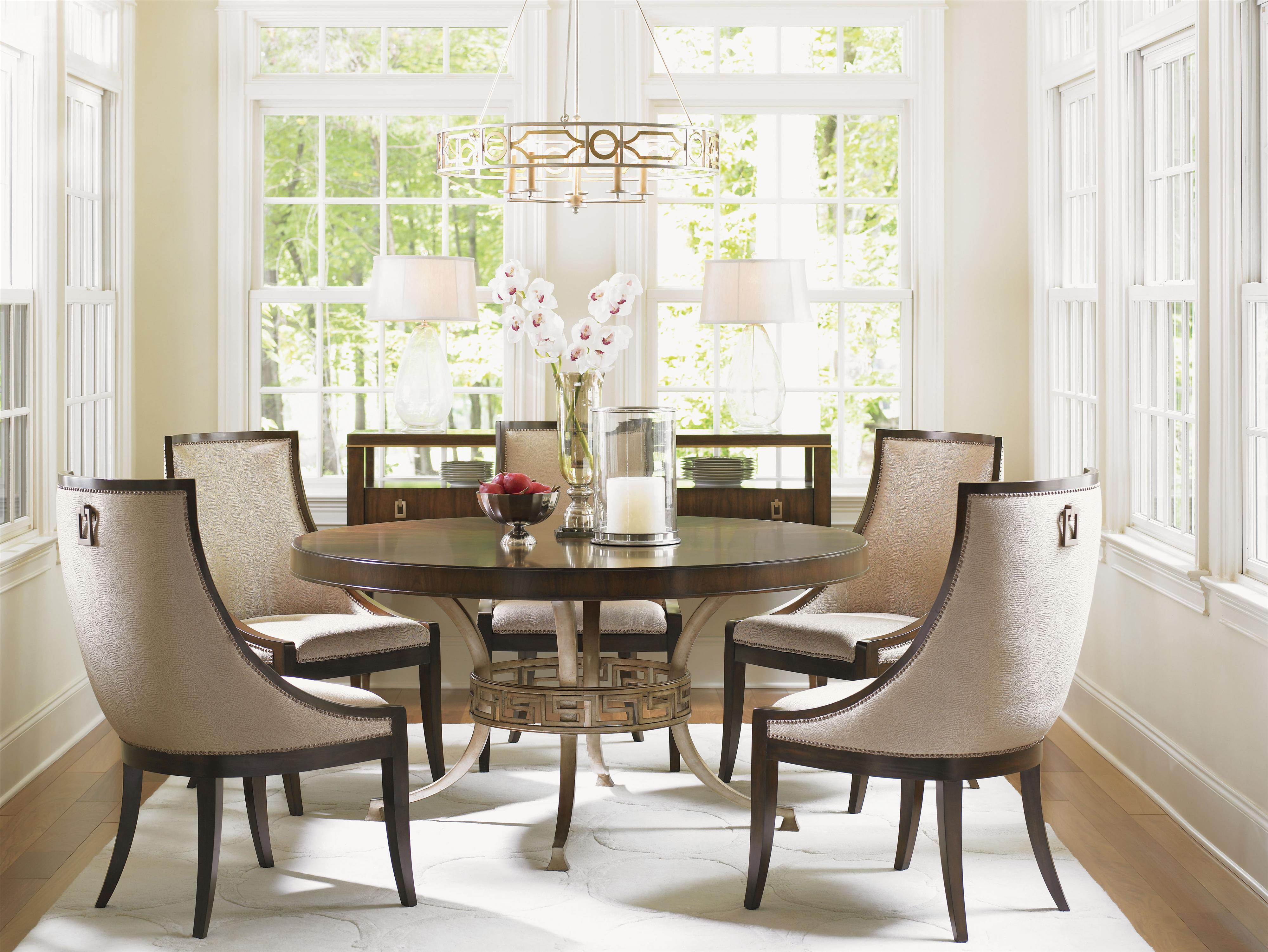 Tower Place 7 Piece Formal Dining Room Group by Lexington at Johnny Janosik