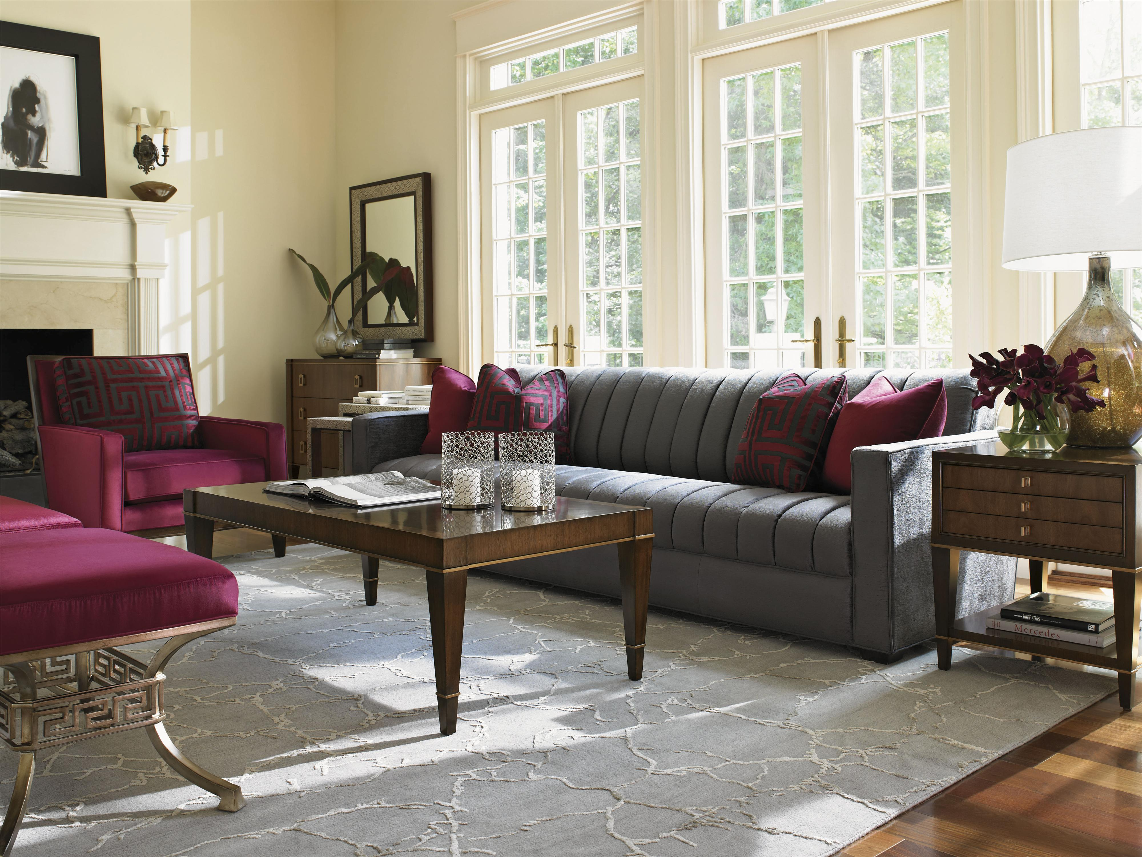 Tower Place Stationary Living Room Group by Lexington at Johnny Janosik