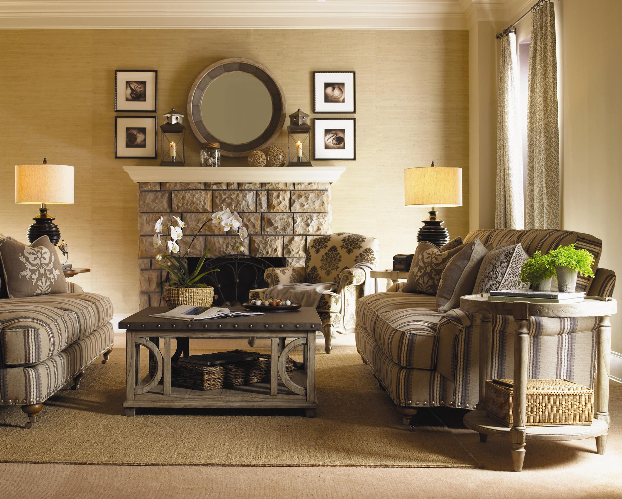 Twilight Bay Stationary Living Room Group by Lexington at Baer's Furniture