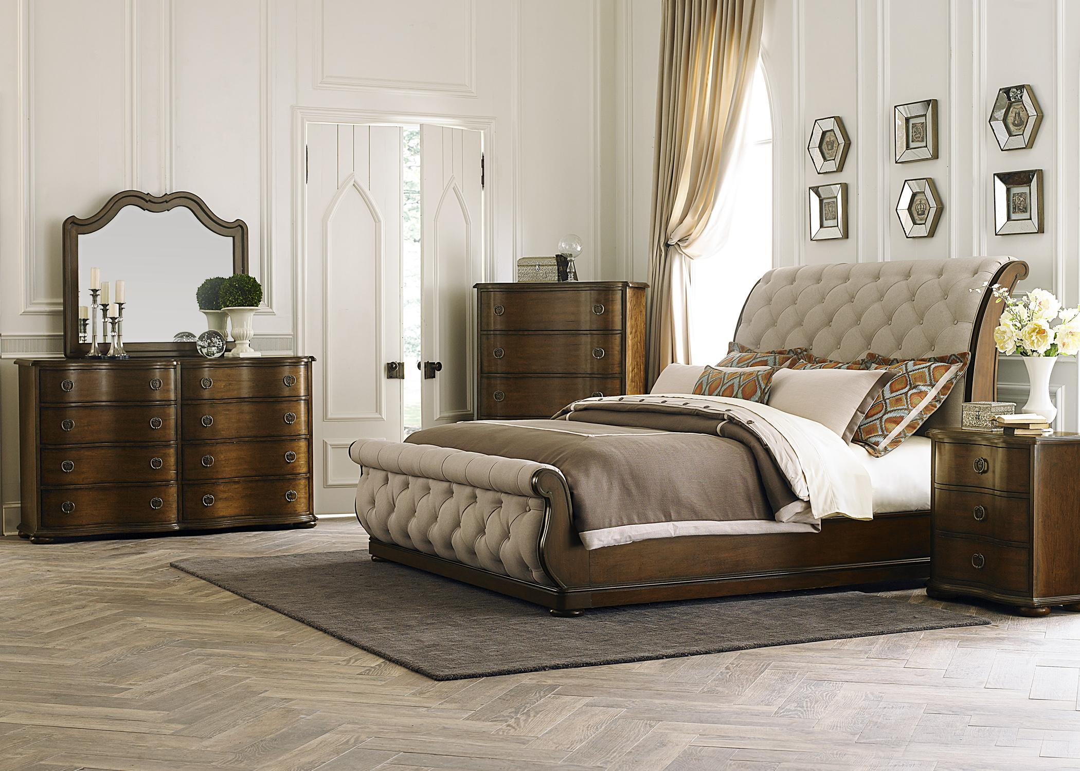 Cotswold  Queen Bedroom Group by Sarah Randolph Designs at Virginia Furniture Market