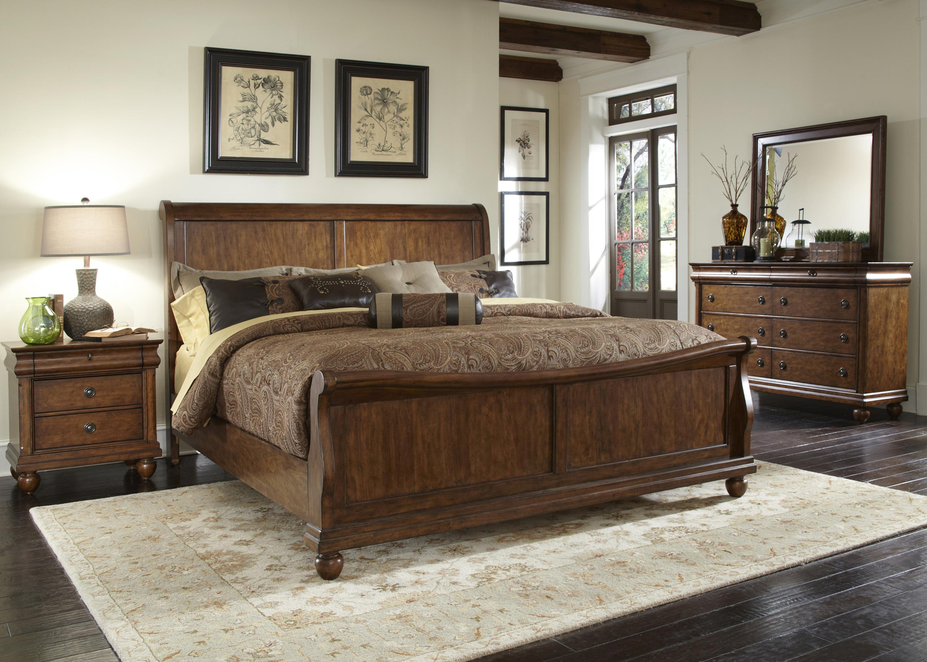 Rustic Traditions Queen Bedroom Group 2 by Sarah Randolph Designs at Virginia Furniture Market