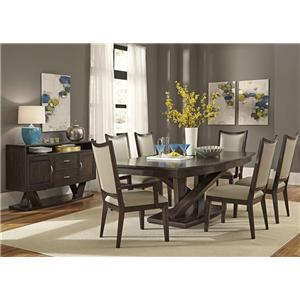 Liberty Furniture Southpark Formal Dining Room Group