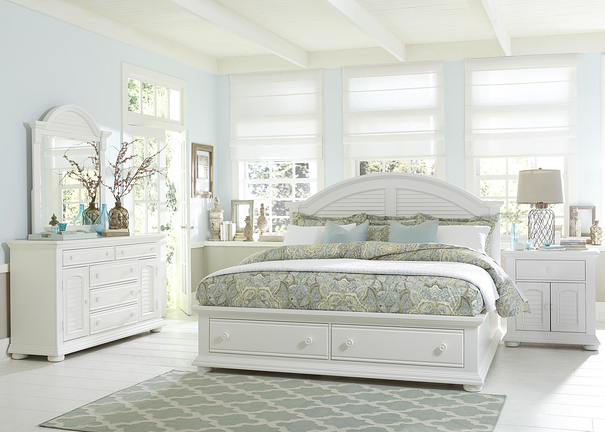 Summer House Queen Bedroom Group by Liberty Furniture at Catalog Outlet
