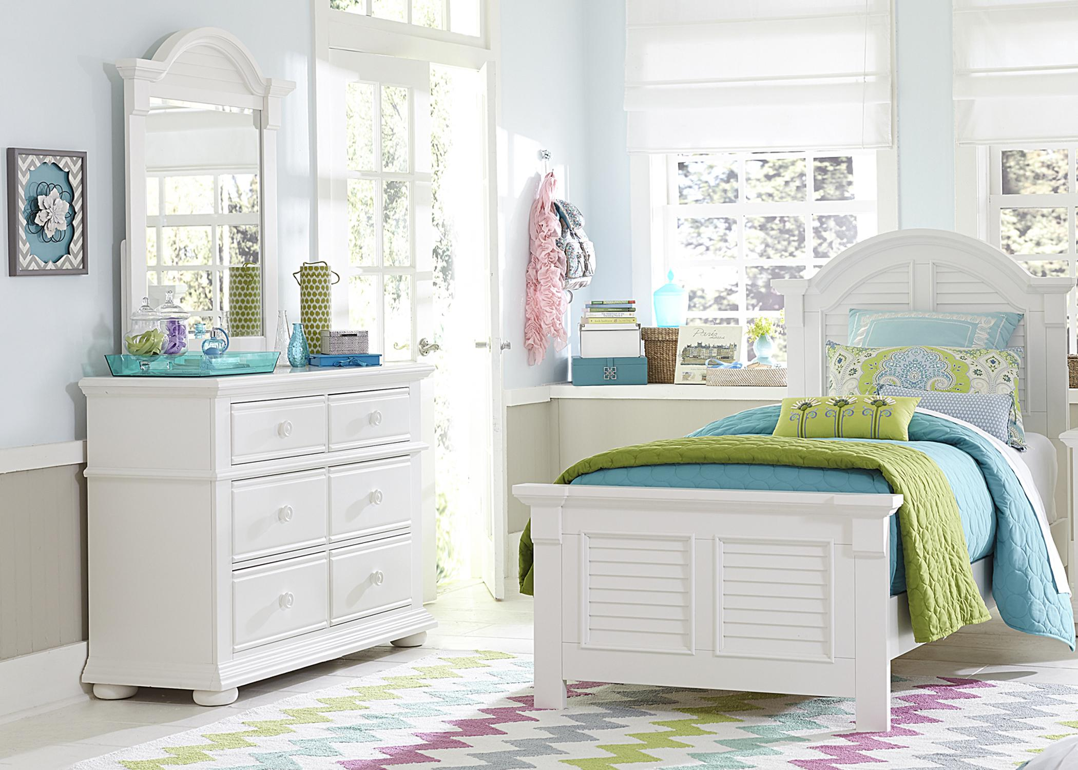 Summer House Full Bedroom Group by Sarah Randolph Designs at Virginia Furniture Market
