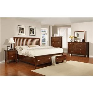 Lifestyle 4130A Cal King Bedroom Group